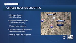 Mohave County Sheriff's deputy shoots man involved in domestic violence incident