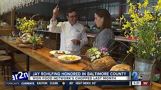 Jay Rohlfing honored in Baltimore County