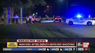 Man dies after deputy-involved shooting in Ruskin, deputies say