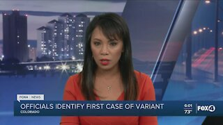 Officials identify first case of COVID variant in the U.S.
