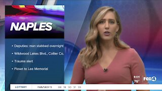 Man stabbed in Collier County