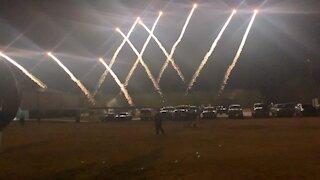 Firework Show At Grace Church, Newton, Texas