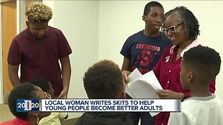 Local woman writes skits to help young people become better adults