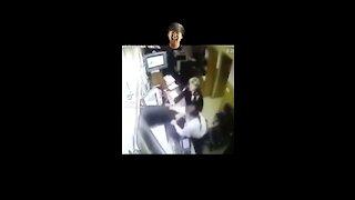 Guy escapes from precinct