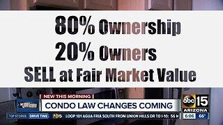 Arizona condo law changes coming