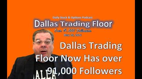 Dallas Trading Floor No 301 - May 25, 2021