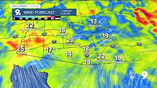 Wind, cooler temperatures and even some rain returns to southeastern Arizona