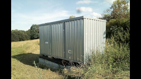 Life Support Module - Container modified into complete Off-Grid House