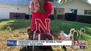 Nebraska State Fair bomb a tree contest open