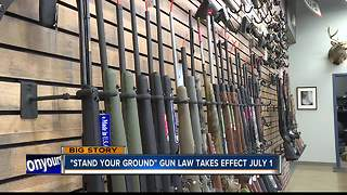 """""""Stand Your Ground"""" law takes effect July 1"""