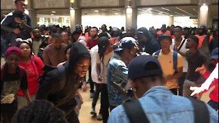 SOUTH AFRICA - Johannesburg - Wits Protest (rks)