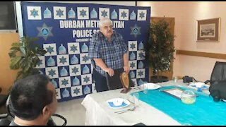 SOUTH AFRICA - Durban - Metro police farewell (Video) (D6t)
