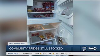 Community fridge in Cape Coral still available for people in need