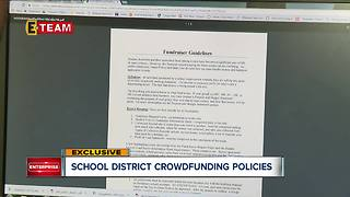 School districts adopting crowdfunding policies