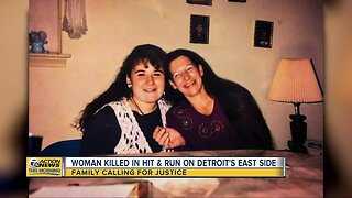 Woman killed in hit and run on Detroit's east side