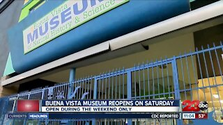 Buena Vista Museum reopens, expresses concerns of another closure if Kern County moves to purple tier
