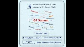 Corstet 5 Minute Overview: G7 Summit And Global Governance 3 - Biden Meets Putin In Geneva