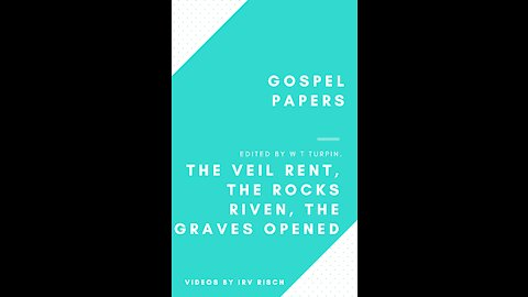 The Veil Rent, the Rocks Riven, the Graves Opened
