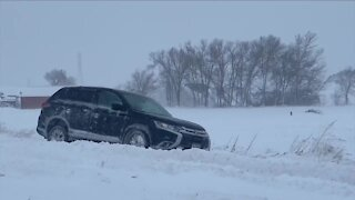 Drivers facing rough road conditions, keeping rescue teams busy
