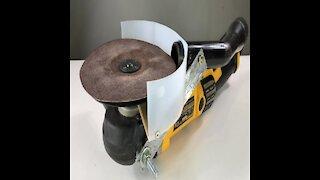 AMAZING! Brilliant Idea For Your Disc Grinder or Sander
