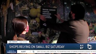 San Diego local shops relying on small business Saturday