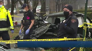 Woman killed in 5-vehicle crash in Cleveland, 4 others injured