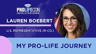 Rep. Lauren Boebert Shares Her Pro-Life Journey