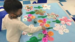 Arvada preschoolers make art that makes a difference
