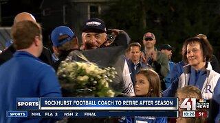 Rockhurst football coach to retire after season