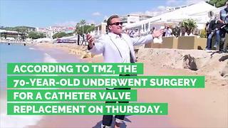 Arnold Schwarzenegger Undergoes Emergency Open-Heart Surgery