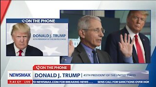 Trump: Fauci Is Very Confused