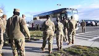 New York Governor Andrew M. Cuomo sends Troops to DC - Military Occupation