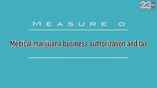 Measure O: Medical marijuana business authorization and tax