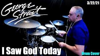 George Strait - I Saw God Today - (Drumless Cover) #GeorgeStrait