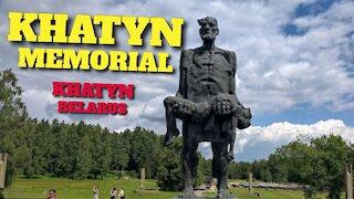 KHATYN MEMORIAL - KHATYN, BELARUS - 14TH AUGUST 2020