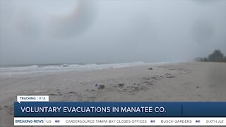 Manatee County issues voluntary evacuations for some areas