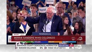 Bernie Sanders speaks in Vermont after winning Colorado