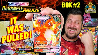🔥Charizard VMax Pulled!🔥 Darkness Ablaze Booster Case (Box 2) | Charizard Hunting | Pokemon Opening