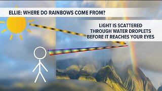 Kevin's Classroom: Where do rainbows come from?