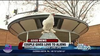 UFO chicken coop