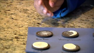 Learn about moon phases with this sweet experiment