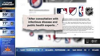NBA, NHL, MLB and MLS close locker rooms to media due to coronavirus fears