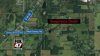 Police investigating suspicious death