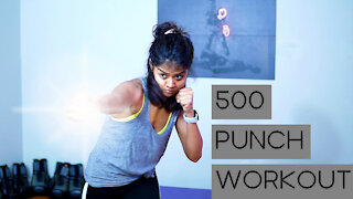 Cardio Boxing Home Workout