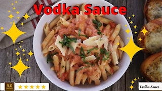 Fun & easy vodka sauce recipe