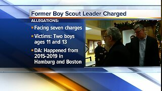 Former executive with Boy Scouts of America arrested for sexual conduct with children