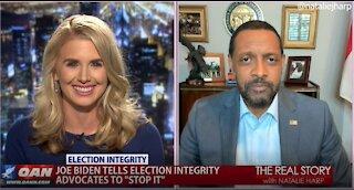 The Real Story - OANN Biden & Boycotts with Vernon Jones
