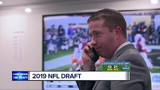 What will Bob Quinn do during the NFL Draft with the Detroit Lions?