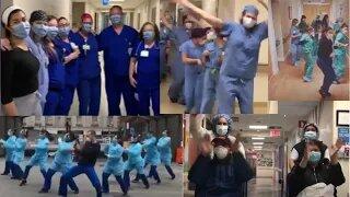 Healthcare Workers Dancing EXPOSED!