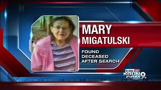 Missing woman with Alzheimer's found dead